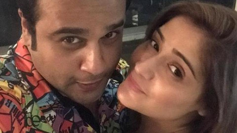 Krushna Abishek shares a picture with sister Arti Singh.