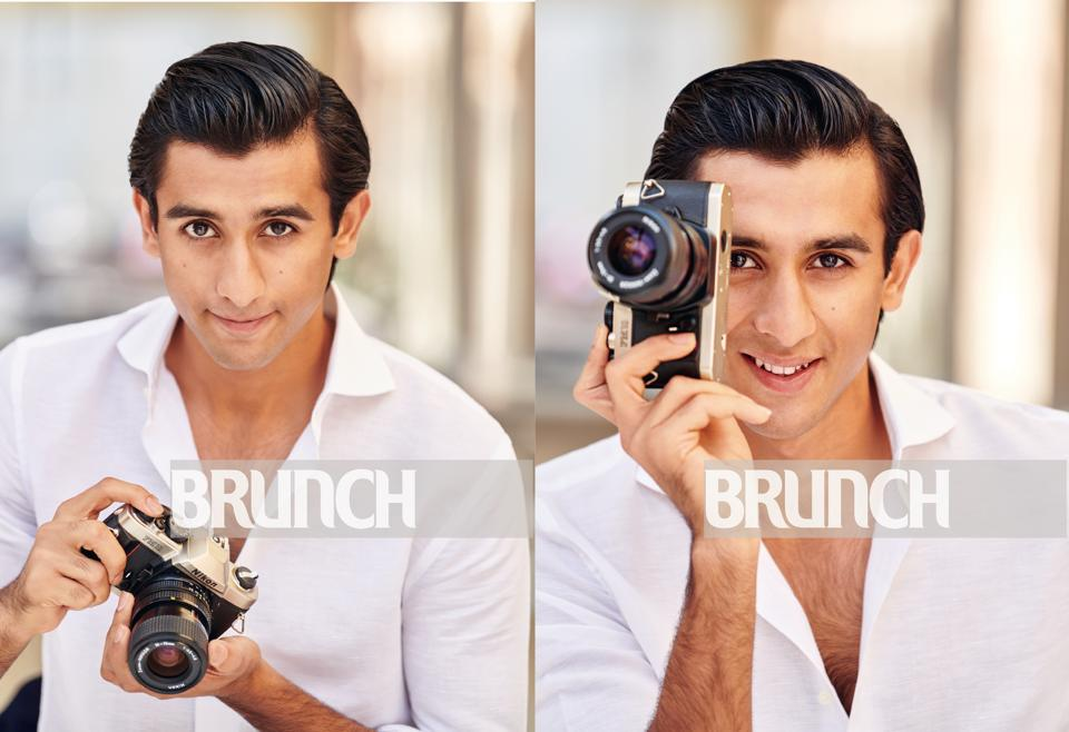 Photos shot exclusively for HT Brunch at City Palace, Jaipur; Art direction by Amit Malik, On Padmanabh: Shirt, custom-made by the City Palace tailor
