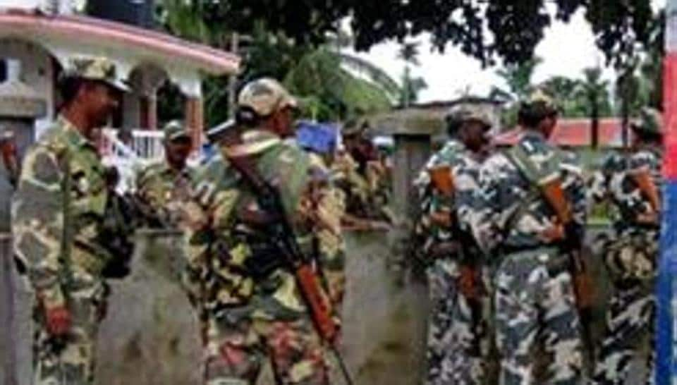 The CRPFcamp in UP's Rampur  was attacked with grenades and AK-47s in the early hours of January 1, 2008.