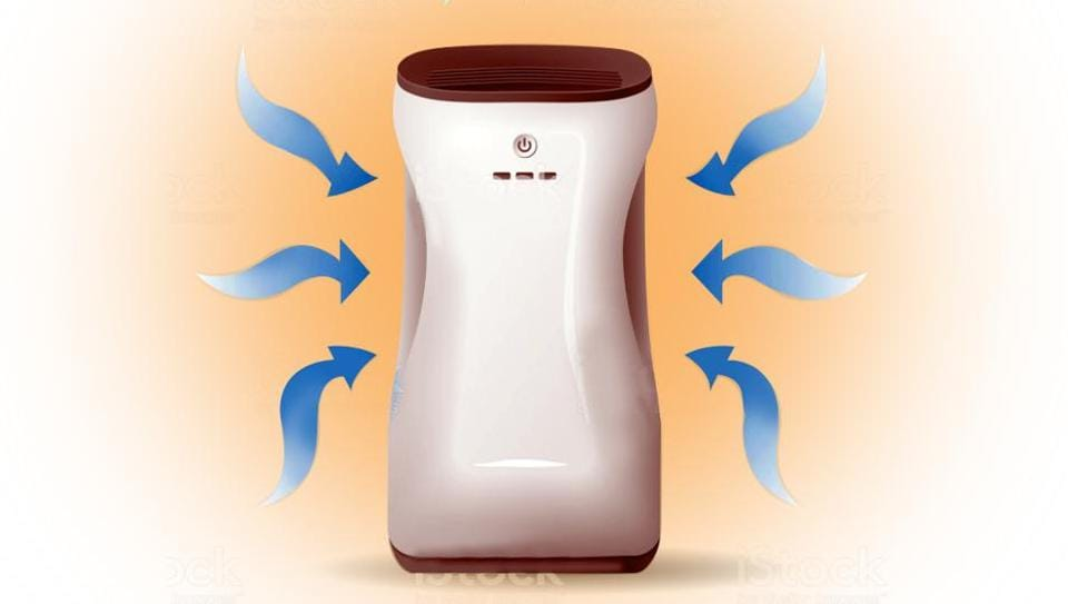 An air purifier essentially filters out PM2.5 - particles that are 2.5 microns in size – using a HEPA (High Efficiency Particulate Air) filter.