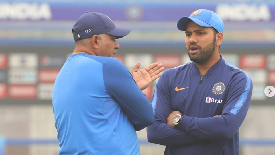 Rohit Sharma plays his 99th T20I.