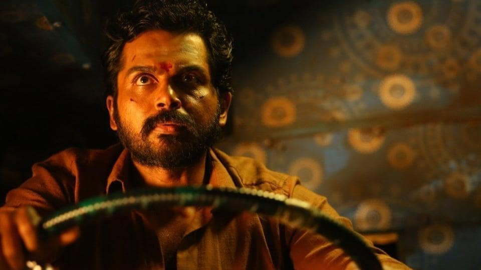 Karthi plays a prisoner on parole to meet his daughter he has never seen.