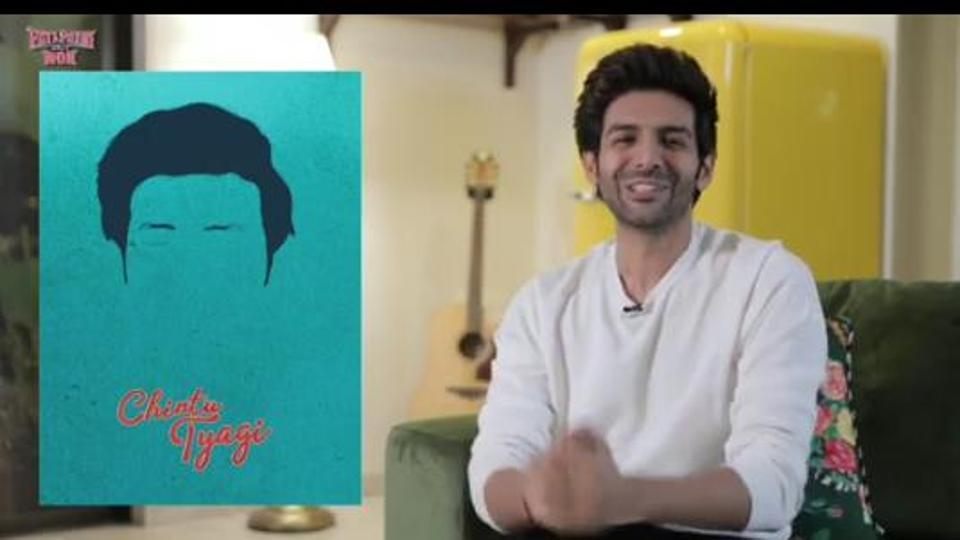 Kartik Aaryan has announced that the trailer for Pati Patni Aur Woh will land on Monday.