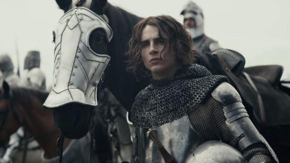 The King movie review: Timothee Chalamet's quiet intensity is overpowered by Robert Pattinson's manic performance.