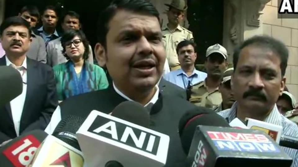 Emerging from Amit Shah's North Block office in the national capital, Fadnavis suggested that his Delhi visit was all about getting relief from the Centre for farmers back home impacted due to the unseasonal rains