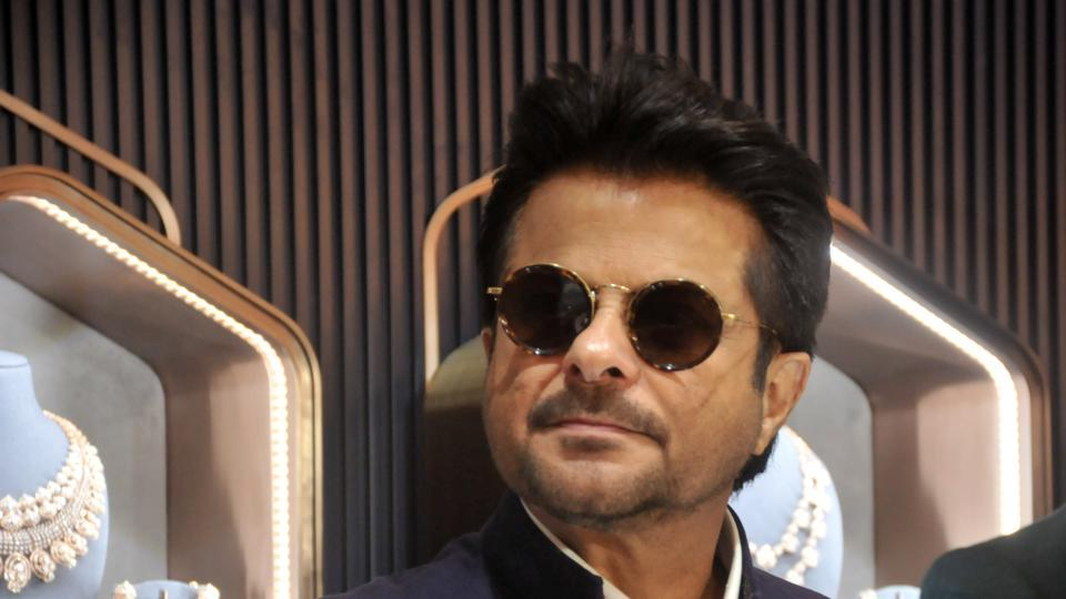 Anil Kapoor at an event in Pune, India. (HT PHOTO)