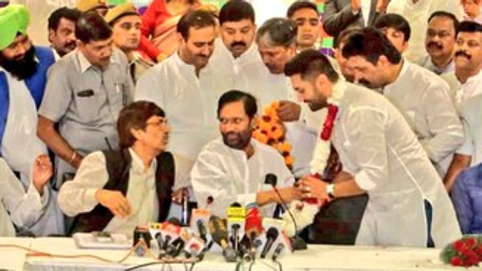 The newly elected party president assured leaders that he would work in close collaboration with senior leaders and workers for strengthening the party and taking it forward for delivering on its principles of social justice without compromising on its stand. (Photo @irvpaswan)