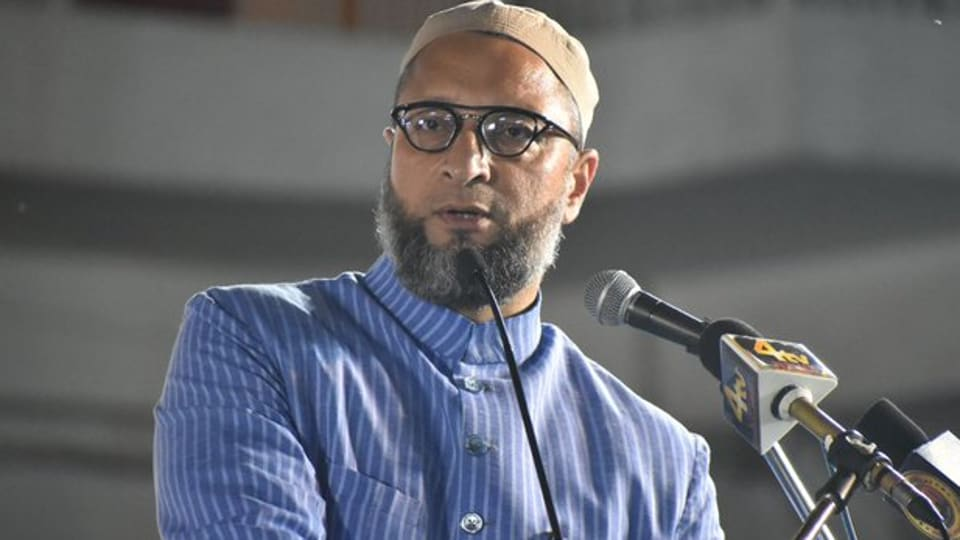 The MIM president recalled that it was during the regime of former prime minister P V Narasimha Rao that the disputed structure was demolished. (Photo  @aimim_national)
