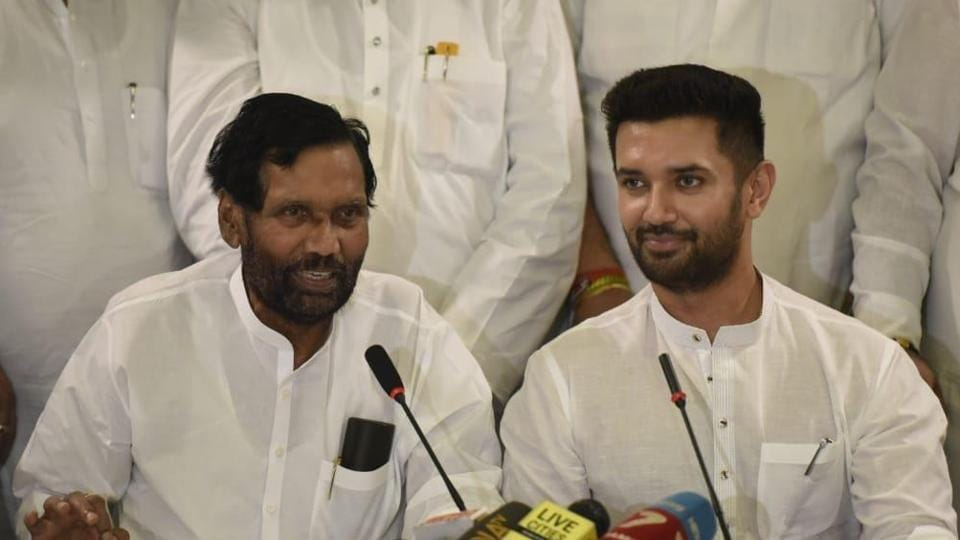 Chirag  Paswan, an engineering graduate, is the second term Lok Sabha member and has been the key decision maker in the party for a while.