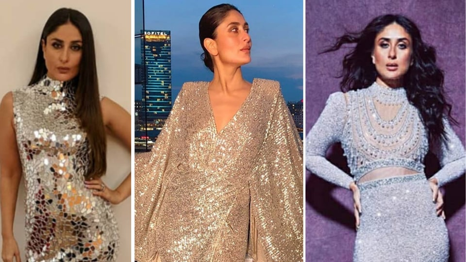 Metallics are ruling runways around the world, but have been a part of Kareena's style portfolio for a while. Take a cue from Kareena's best metallic, shimmer and shine looks and get inspired.