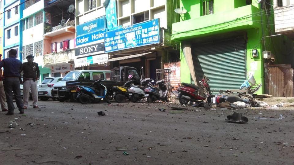 Five Policemen Among 6 Injured In Suspected IED Blast In