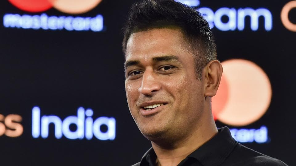 File phot of MSDhoni.
