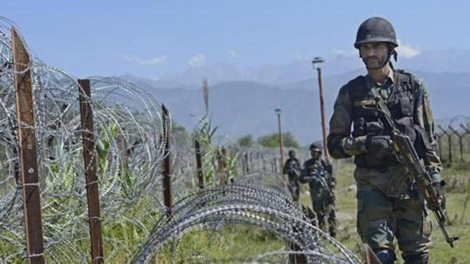 A defence official said the Indian Army retaliated to the firing by Pakistani Rangers along the LoC in Poonch district on Tuesday morning