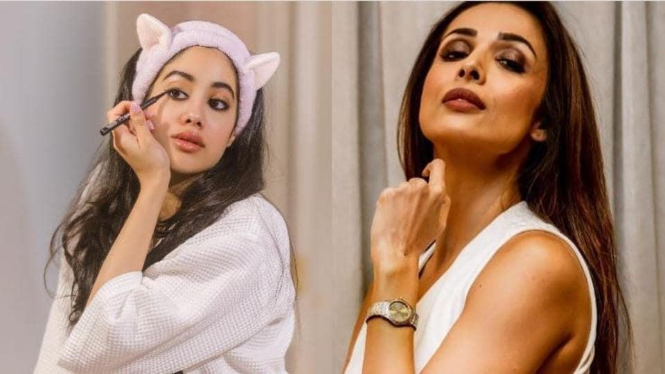 Malaika Arora gave a zero to Janhvi Kapoor for her winged eyeliner during a fun quiz on No Filter Neha.