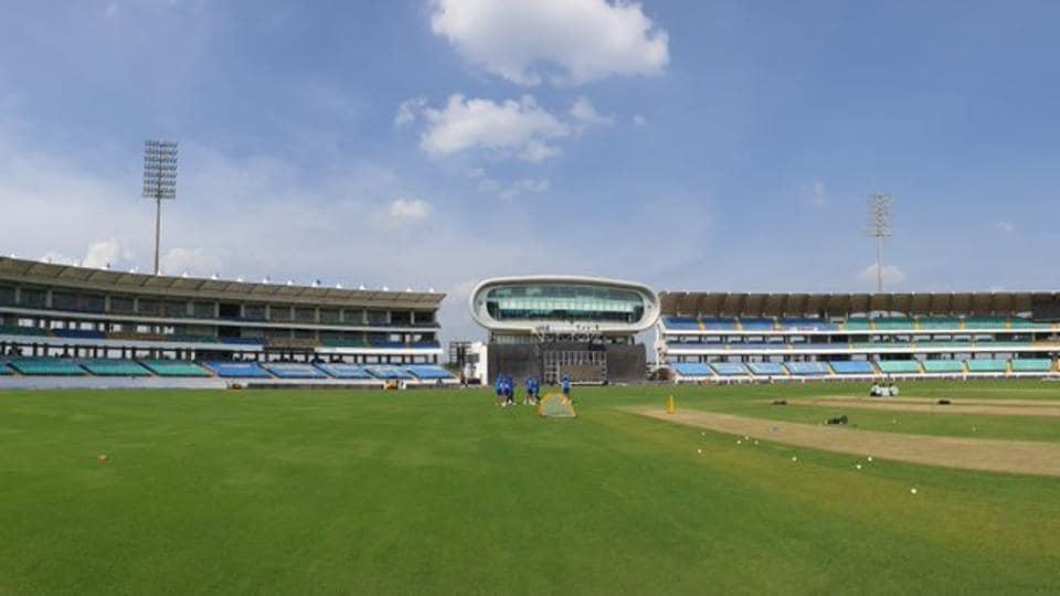 Saurashtra Cricket Association Stadium in Rajkot.