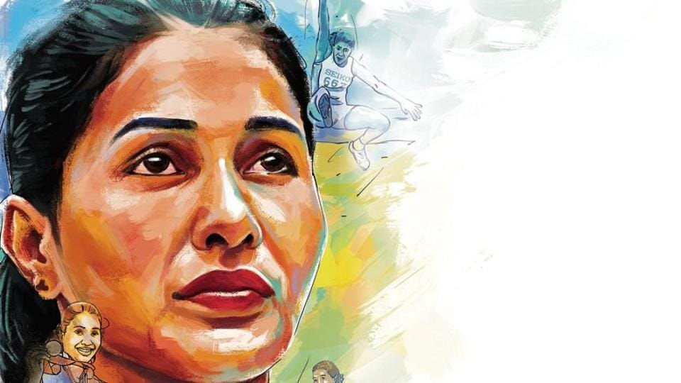 Anju Bobby George made history at the 2003 World Athletics Championships in Paris when she won the long jump bronze medal with a leap of 6.70m, making her the first and only Indian athlete to win a medal at that level.