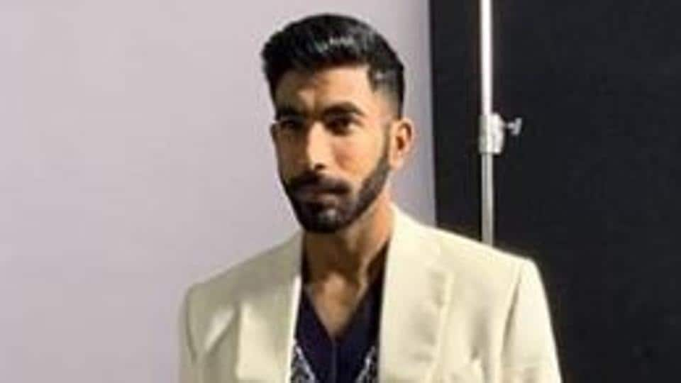 Jasprit Bumrah poses for a photo.