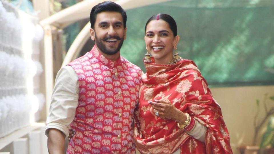 Ranveer Singh and Deepika Padukone got married last year.