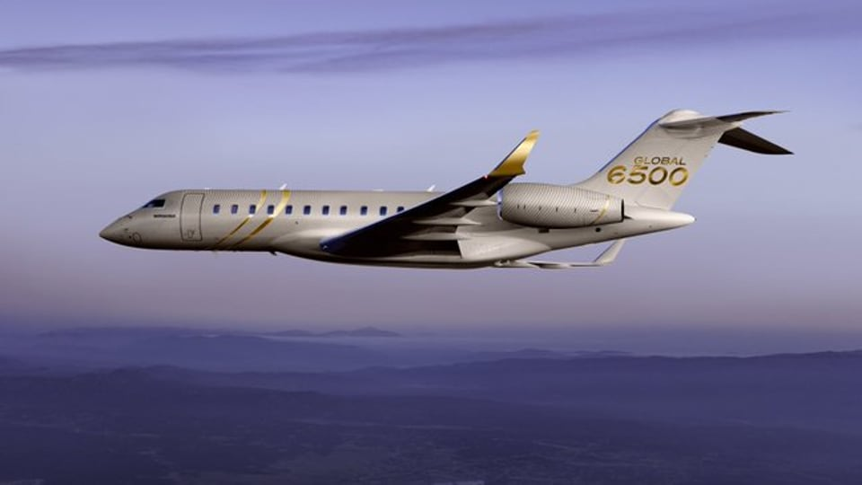 The swanky two-engine 'Bombardier Challenger 650' would be delivered in the next two weeks, officials said on Wednesday. (Photo @bombardierjets)