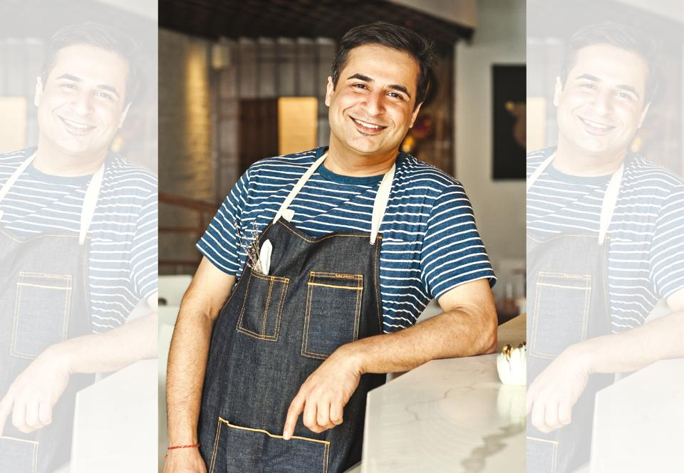 Suvir Saran is that rarest of all Indian chefs: self-taught with a foundation given to him by the family cook