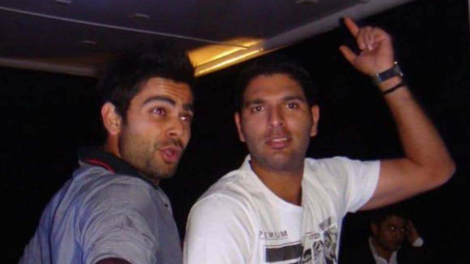 File image of Yuvraj Singh (L) and Virat Kohli.