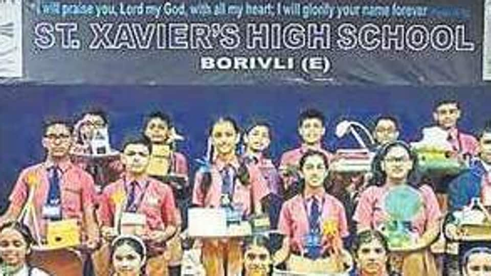 Students of St Xavier's High School in Borivli spent their Diwali vacations working on projects to highlight environmental issues.
