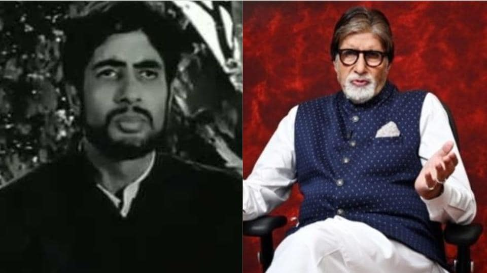 50 years of Amitabh Bachchan in Bollywood: November 7 marks 50 years of his 1969 debut film Saat Hindustani.
