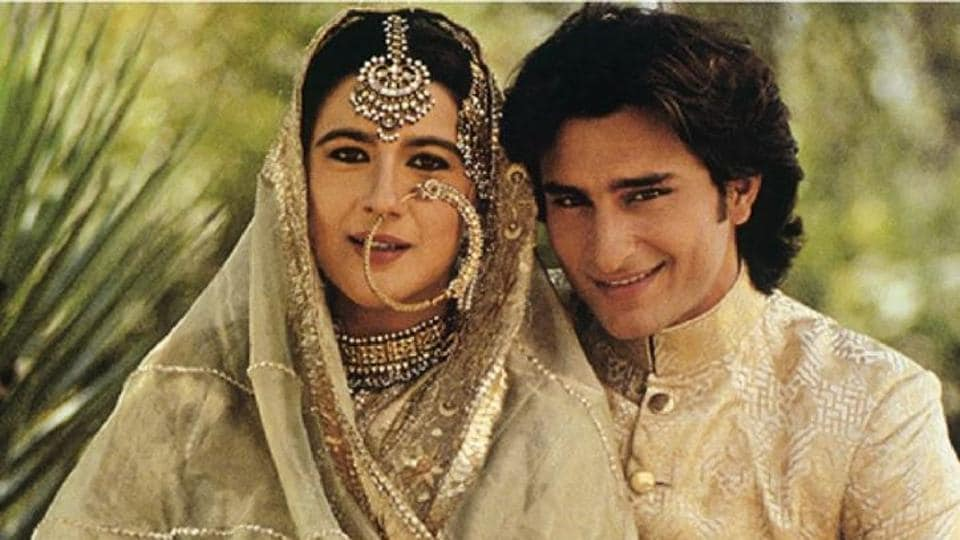Image result for সাইফ আলী খান ও অমৃতা সিংহ