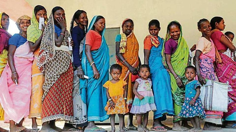 Women voting percentage was higher in 20 assembly seats, including 13 reserved for tribal, of the 81 seats during the Lok Sabha polls in Jharkhand.