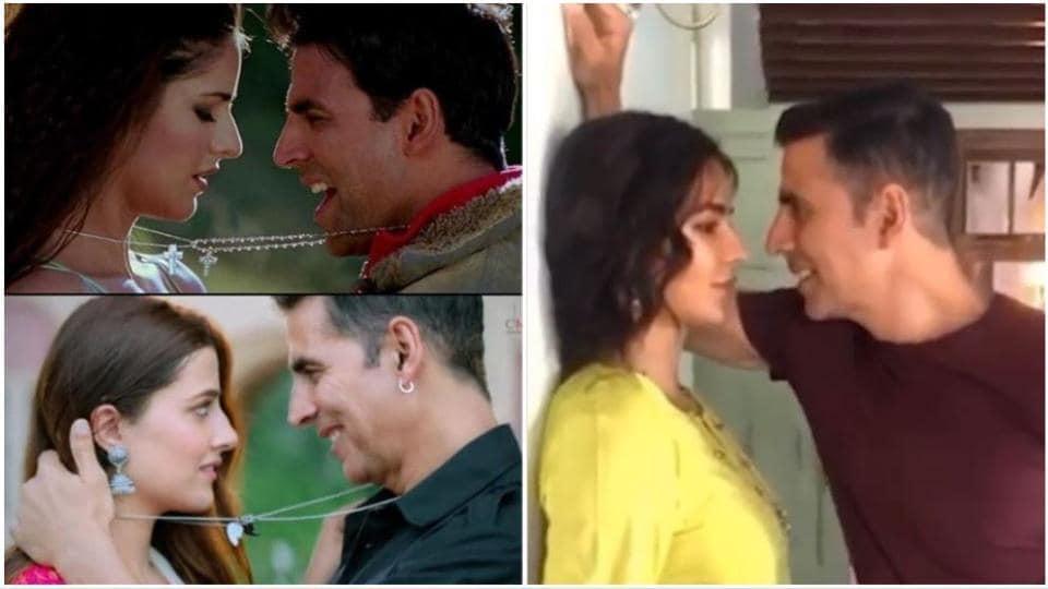 Akshay Kumar and Katrina Kaif bring back their Namastey London chemistry on Sooryavanshi sets.