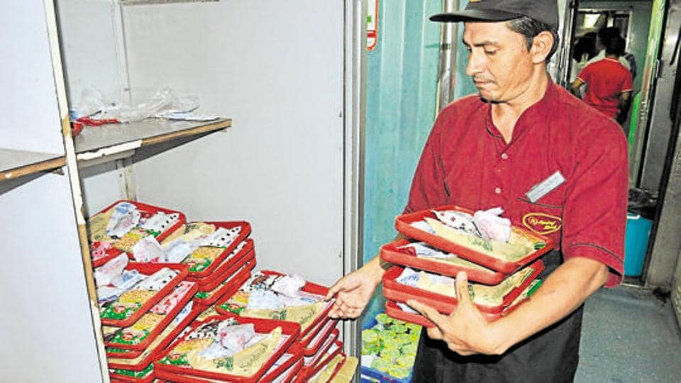 The firm claims to provide catering on nearly 150 trains including the Rajdhani Express.