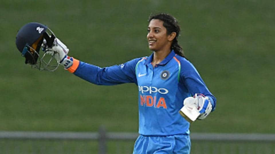 India batswoman Smriti Mandhana