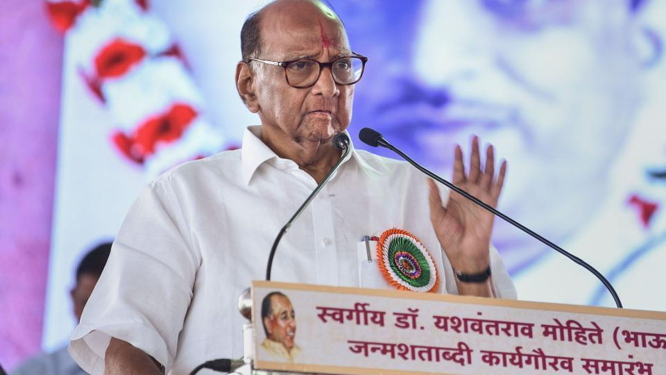 NCP chief Sharad Pawar canceled his three-day tour of rain-affected areas of Maharashtra  and is expected to meet party leaders in Mumbai on November 8, 2019.