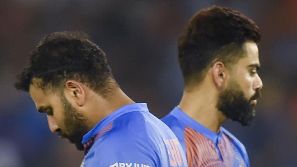 File image of Virat Kohli and Rohit Sharma (L).