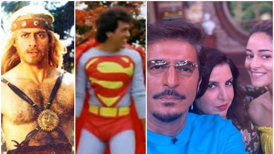 After Ananya Panday's Tony Stark reference, Twitter is having fun digging out Bollywood versions of Super Man and Thor.