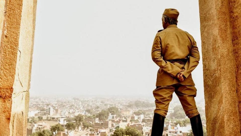 Kamal Haasan as Senapathy in a new still fromShankar's Indian 2.