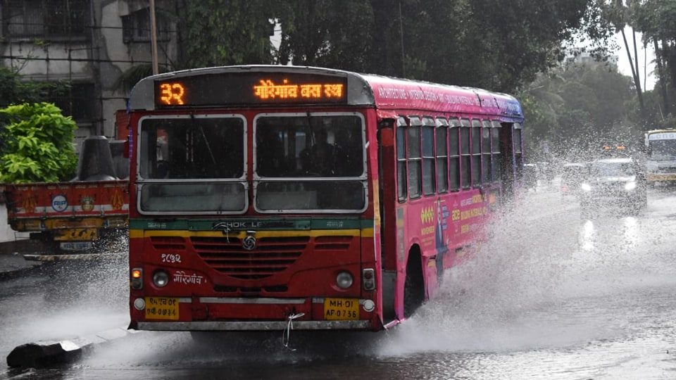 Mumbai recorded 32.7mm rain between 5.30am and 9.30am, and 29.6mm between 9.30am and 11.30am on November 8, 2019.