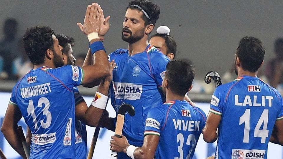 File image of Indian men's hockey team.