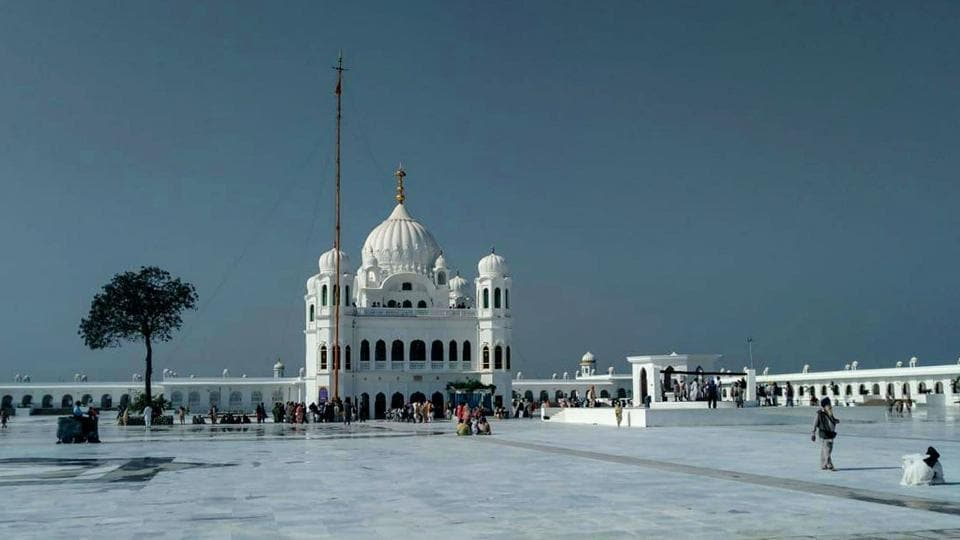 A view of Gurdwara Kartarpur Sahib in Pakistan on Friday, 8 November 2019.