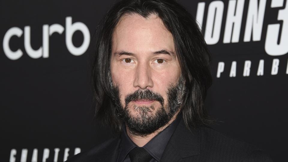 Keanu Reeves attends the world premiere of John Wick: Chapter 3 - Parabellum.