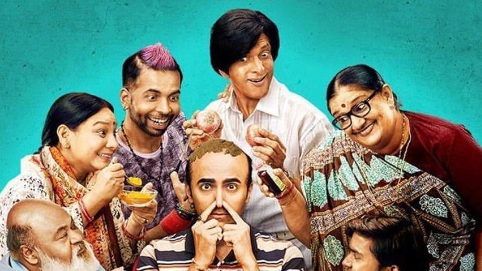 Ayushmann Khurrana plays a balding man in comedy Bala.