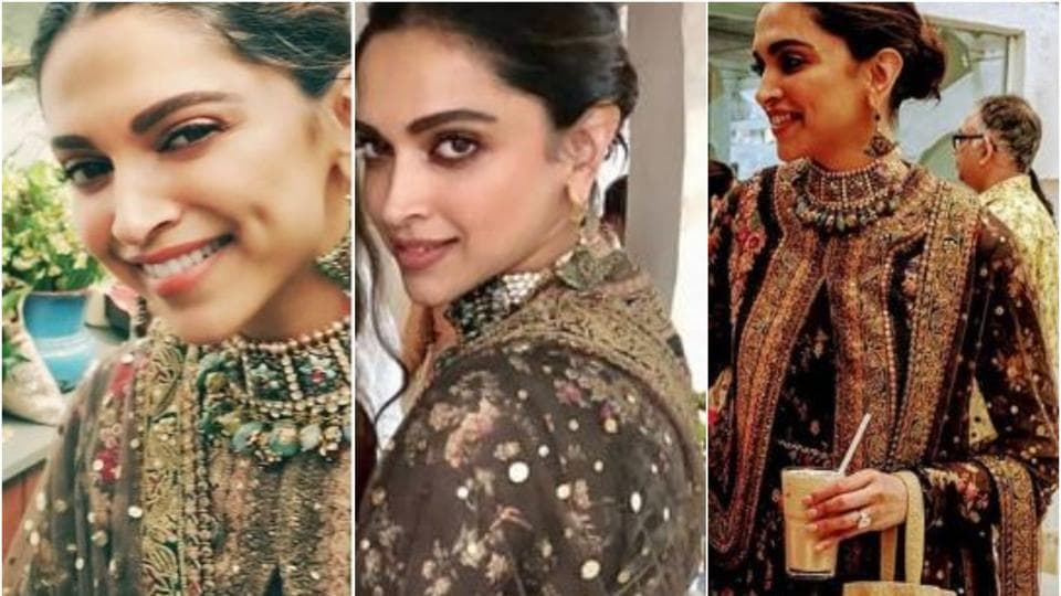 Pictures of the actress wearing a Sabyasachi creation have been doing the rounds on social media and we cannot keep calm at how lovely Deepika looks yet again.