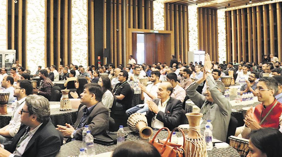 """Villgro, one of the startup incubators, runs an annual event, called """"Unconvention"""", one of the largest gathering of entrepreneurs, investors, policy makers, CSR heads and other ecosystem players. This is a snapshot of the 2018 Unconvention."""