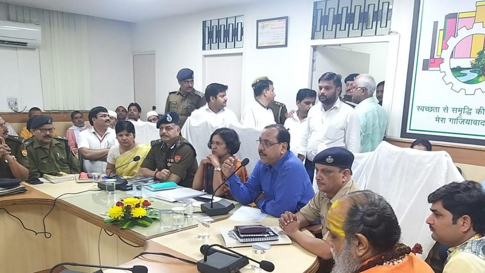 Ghaziabad district officials have also drawn up plans to identify others who could pose a threat before, during or after the Ayodhya verdict is announced on Saturday.