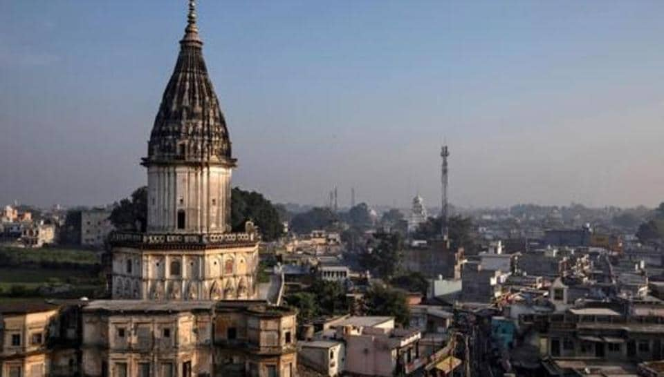 A general view of Ayodhya city