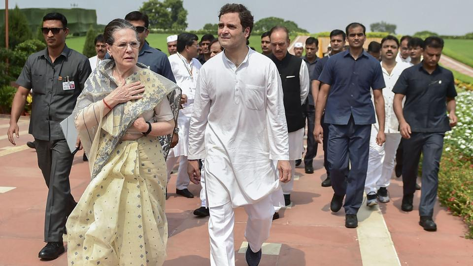 The Gandhi family will continue to get Z+ security status and would now be protected by the Central Reserve Police Force (CRPF).