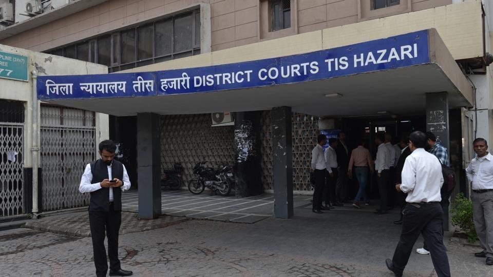 A general view of Tis Hazari Court , New Delhi,  November 8, 2019.