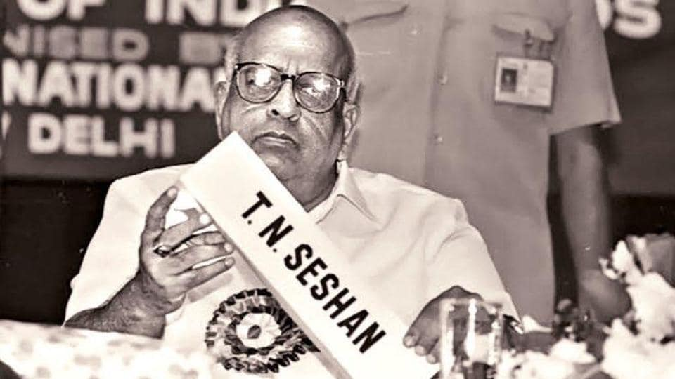 Former chief election commissioner TN Seshan died on Sunday, former bureaucrat SY Qureshi tweeted. He was 86 years old.