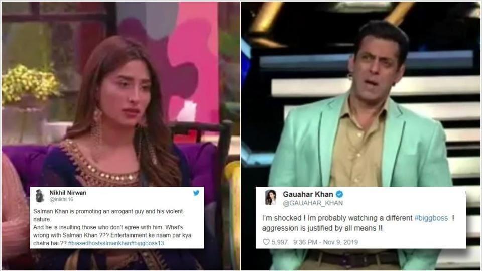 Bigg Boss 13 Biased Host Salman Khan Trends After He