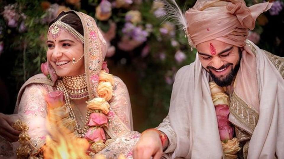 Anushka Sharma and Virat Kohli got married in 2017.
